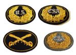 OFFICERS DELUXE SEWN INSIGNIA BADGES